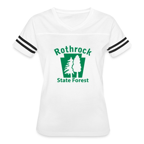 Rothrock State Forest Keystone (w/trees) - Women's Vintage Sport T-Shirt