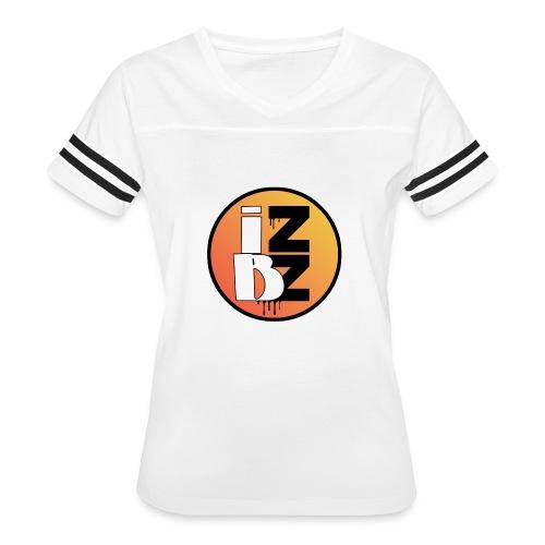 IZBZ Circle Logo - Women's Vintage Sport T-Shirt