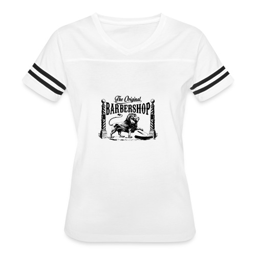 The Original Barbershop - Women's Vintage Sport T-Shirt
