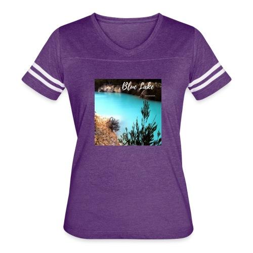 Tasmania Blue Lake - Women's Vintage Sport T-Shirt