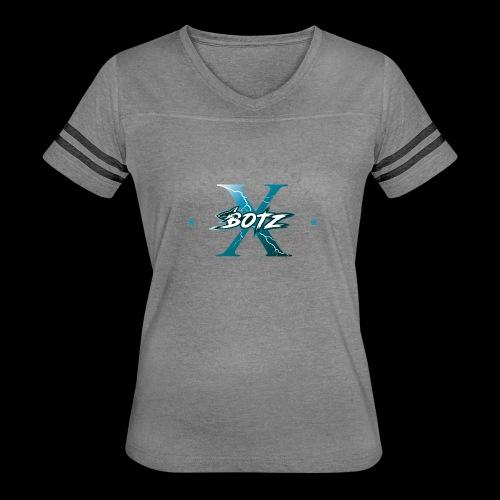 BOTZ X Circle Logo - Women's Vintage Sport T-Shirt