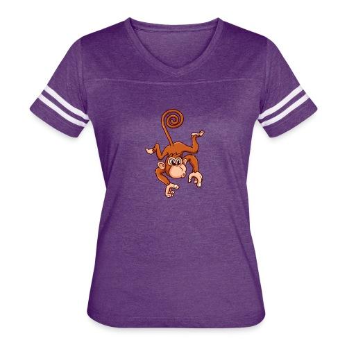 Cheeky Monkey - Women's Vintage Sport T-Shirt