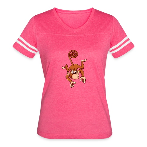 Cheeky Monkey - Women's Vintage Sport T-Shirt