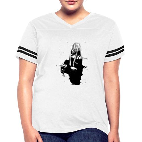 Stay Safe - Women's Vintage Sports T-Shirt