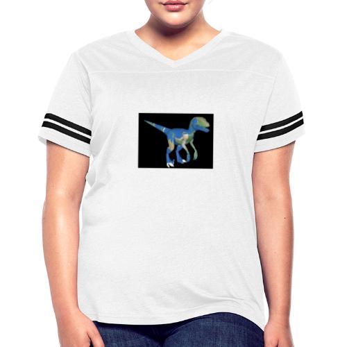dinosaur - Women's Vintage Sports T-Shirt