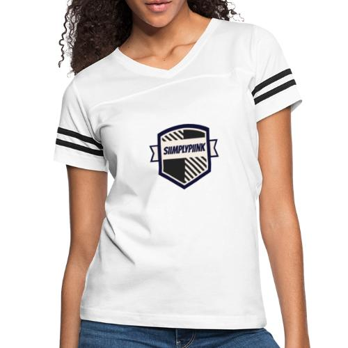 SiimplyPiink - Women's Vintage Sports T-Shirt