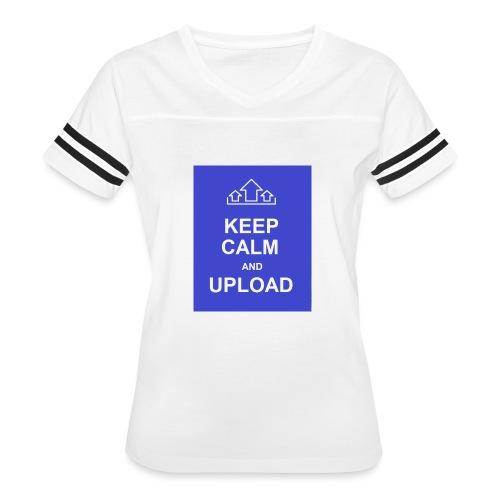 RockoWear Keep Calm - Women's Vintage Sport T-Shirt