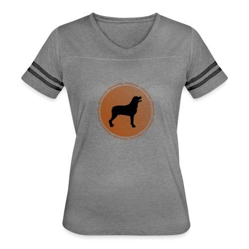 Rottweiler - Women's Vintage Sport T-Shirt