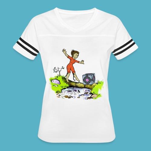 Testing Everywhere! - Women's Vintage Sport T-Shirt