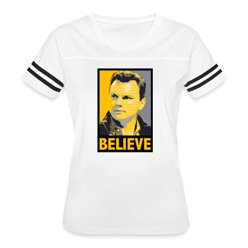 GMBC Believe - Women's Vintage Sport T-Shirt