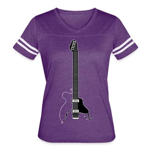 Electric Guitar - Women's Vintage Sport T-Shirt