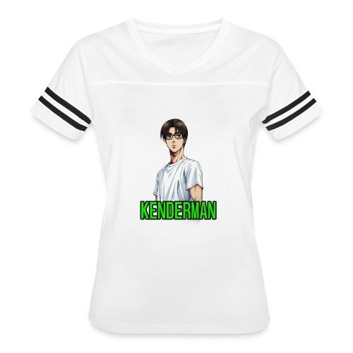 Kenderman manga style merch - Women's Vintage Sports T-Shirt