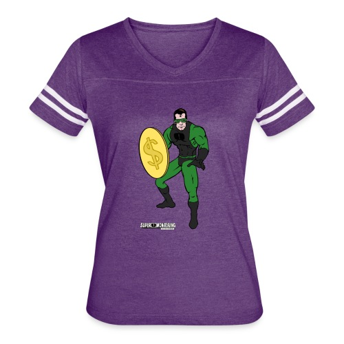 Superhero 4 - Women's Vintage Sport T-Shirt