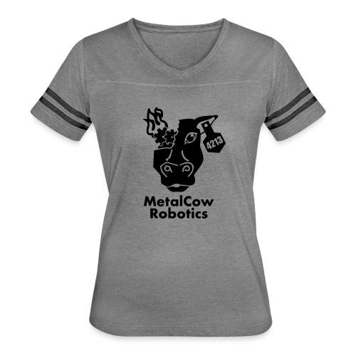 MetalCow Solid - Women's Vintage Sport T-Shirt