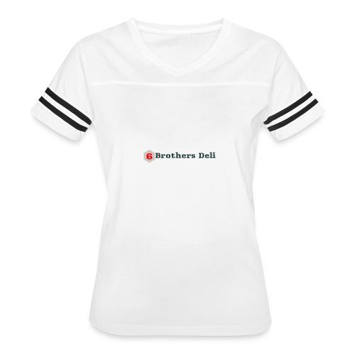 6 Brothers Deli - Women's Vintage Sport T-Shirt