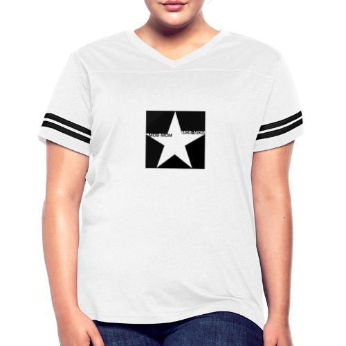 MOB-MOM FIRST DEFENDER* - Women's Vintage Sport T-Shirt