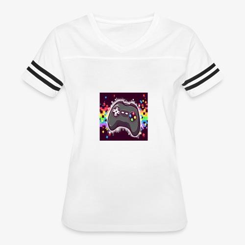 28F77488 9266 4EFE 87D5 7ECC3A08E5E2 - Women's Vintage Sport T-Shirt