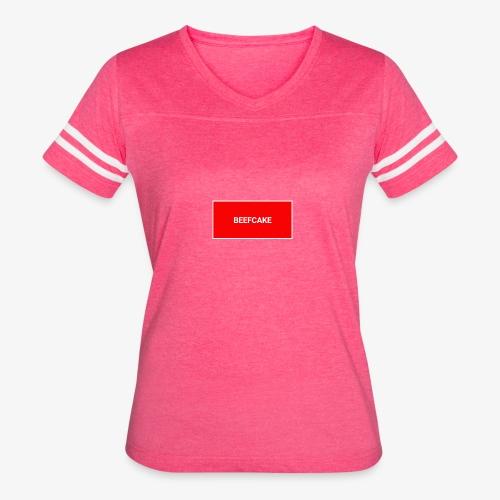 Beefcake supreme - Women's Vintage Sport T-Shirt