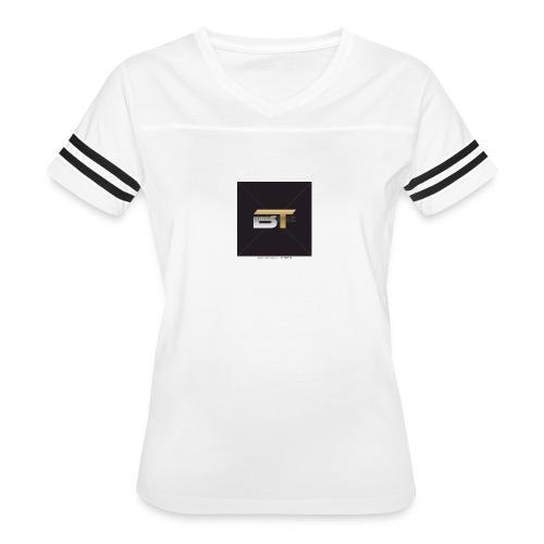 BT logo golden - Women's Vintage Sport T-Shirt