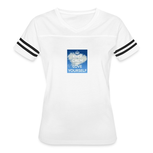 Keep calm and love yourself - Women's Vintage Sport T-Shirt