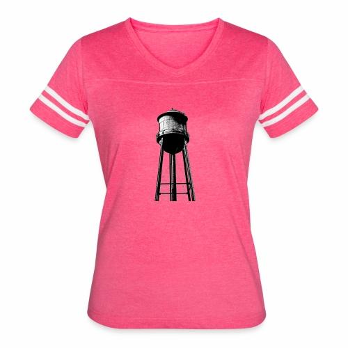 Water Tower - Women's Vintage Sport T-Shirt