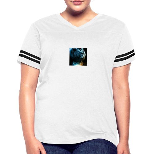 lion - Women's Vintage Sports T-Shirt