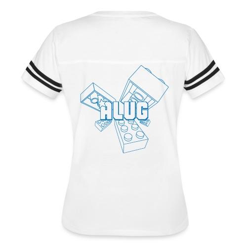 Brick01Blue - Women's Vintage Sport T-Shirt