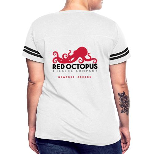 Red Octopus Faster, Funnier, Louder - Women's Vintage Sport T-Shirt