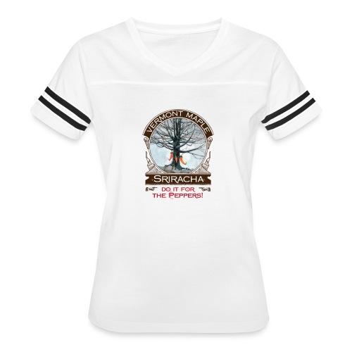Vermont Maple Sriracha - Women's Vintage Sport T-Shirt