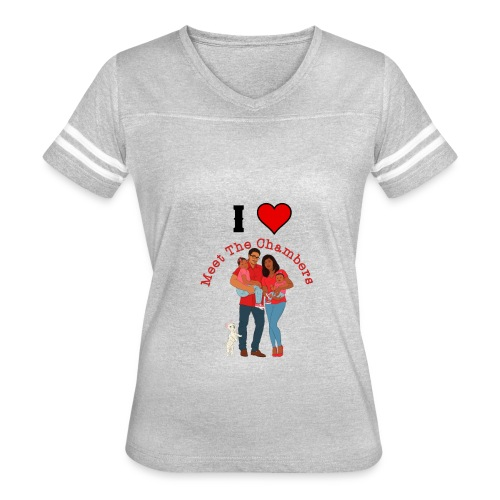 I Love MTC - Women's Vintage Sport T-Shirt