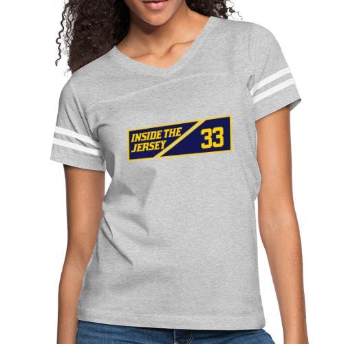 33: Inside The Jersey - Women's Vintage Sport T-Shirt