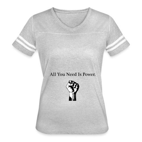 Power - Women's Vintage Sport T-Shirt