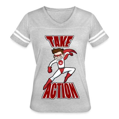 Thorn - Take Action - Women's Vintage Sport T-Shirt