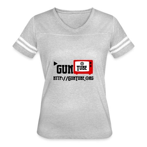 GunTube Shirt with URL - Women's Vintage Sport T-Shirt