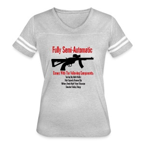 Fully Semi-Automatic - Women's Vintage Sport T-Shirt