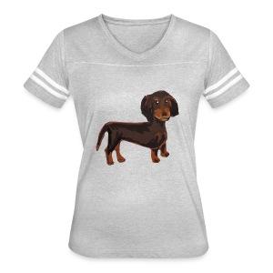 Sun Kissed Kid Official Daschund - Women's Vintage Sport T-Shirt