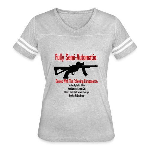 Fully Semi-Automatic - Women's Vintage Sport T-Shirt