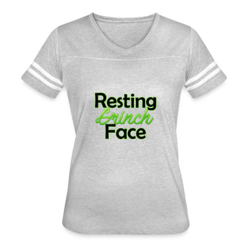 restinggrinchface - Women's Vintage Sport T-Shirt