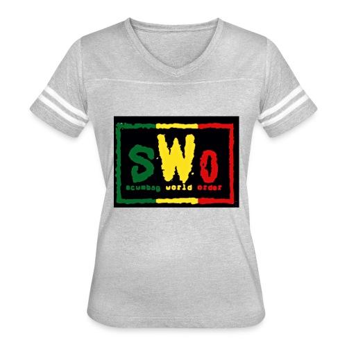 Rasta SCUMBAG - Women's Vintage Sport T-Shirt