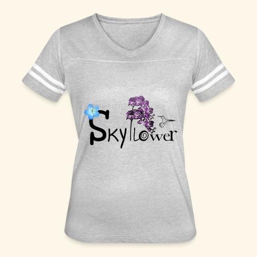 skyflower logo - Women's Vintage Sport T-Shirt