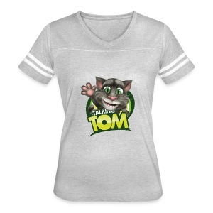 Talking_TOM_wave_preview_lowRes - Women's Vintage Sport T-Shirt