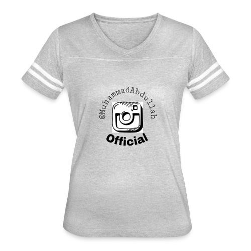 Instagram Logo Design - Women's Vintage Sport T-Shirt