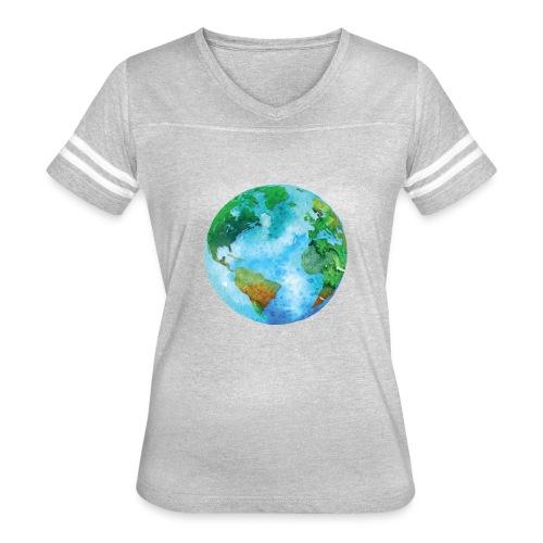 earth - Women's Vintage Sport T-Shirt