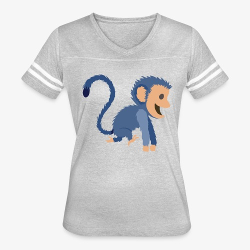 Monkey - Women's Vintage Sport T-Shirt