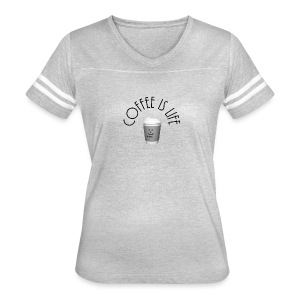 Coffee is life - Women's Vintage Sport T-Shirt