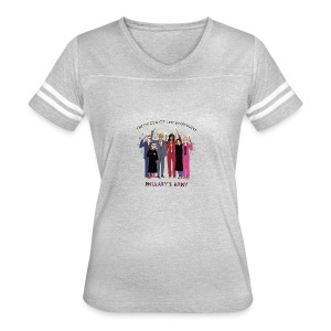The Order of the Pantsuits: Hillary's Army - Women's Vintage Sport T-Shirt