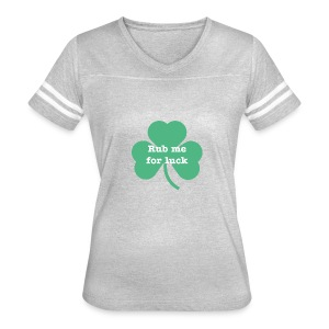 Rub me for luck - Women's Vintage Sport T-Shirt