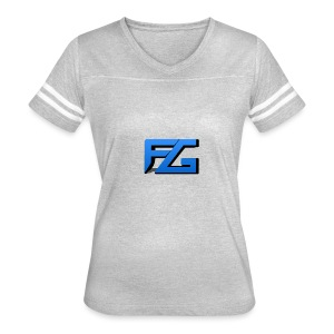 Freeze Gaming Logo - Women's Vintage Sport T-Shirt