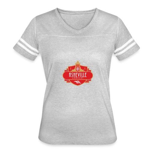 Asheville Armoury Tshirt - Women's Vintage Sport T-Shirt