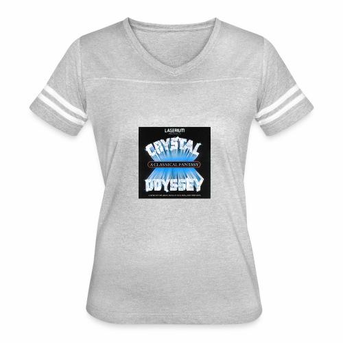 Laserium Crystal Osyssey - Women's Vintage Sport T-Shirt